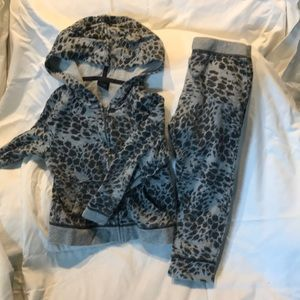 Baby Gap Matching Set Girls Size 4 animal print